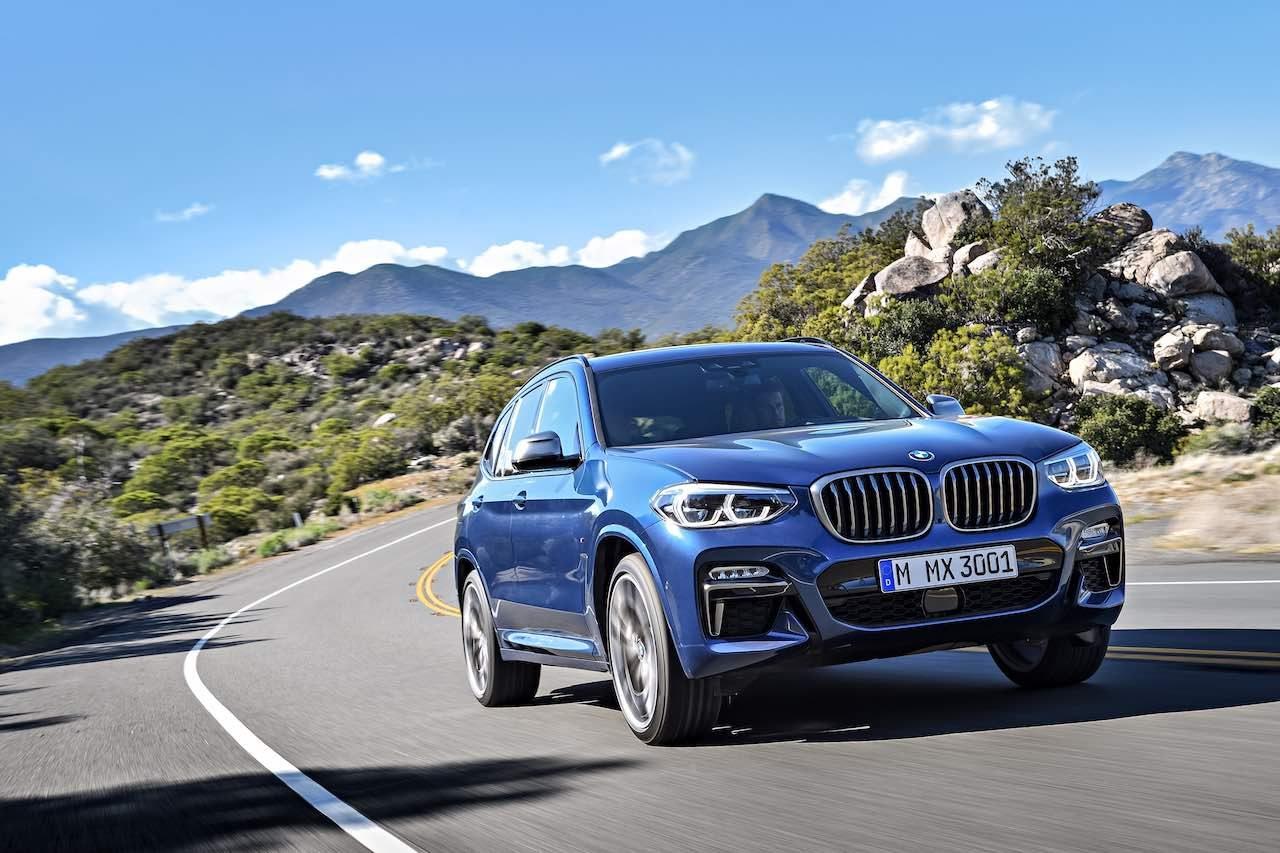 新型『BMW X3』に、日本初導入の高性能6気筒ディーゼル搭載モデルがデビュー