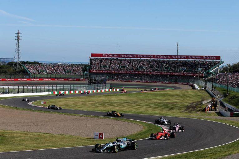 F1 | 2018年F1第17戦日本GP、TV放送&タイムスケジュール