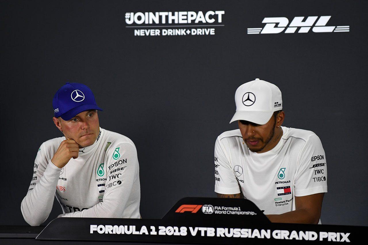 F1 Topic:ロシアGPで下されたチームオーダーに対するボッタスの疑念