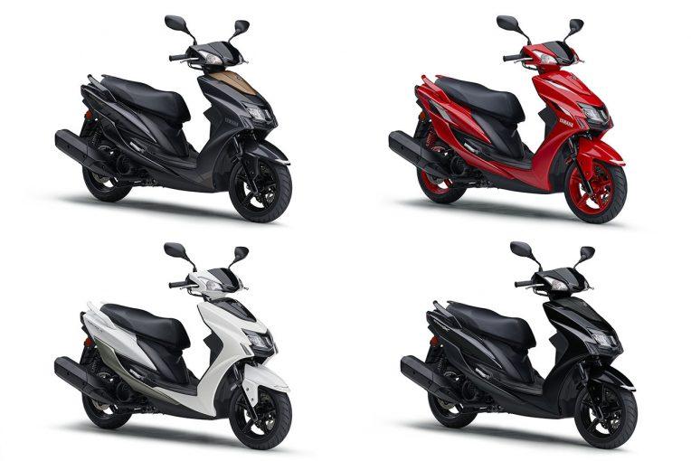 MotoGP | ヤマハの原付二種スクーター『シグナスX』がマイナーチェンジ。11月9日発売