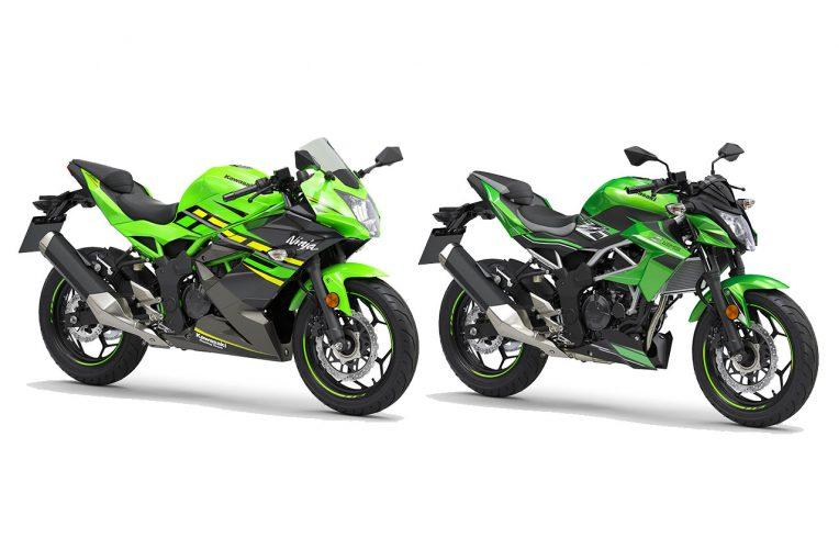 MotoGP | カワサキが欧州向けモデル、ニンジャ125とZ125をインターモト2018でアンベイル