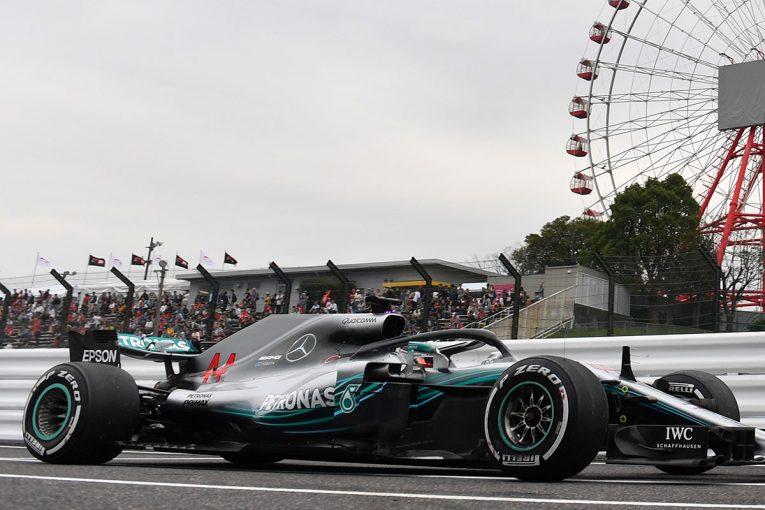 F1 | F1日本GP FP1:ハミルトンがトップタイム、新パワーユニット搭載のトロロッソ・ホンダは11、17番手