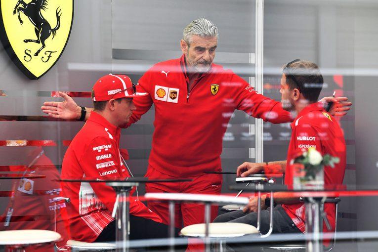 F1 | 有力サッカーチームへの移籍が噂されるフェラーリF1のアリバベーネ代表、鈴鹿で退任の噂を完全否定