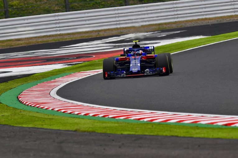 F1 | トロロッソ・ホンダF1のガスリー、ハミルトンとのインシデントで戒告処分。グリッド降格ペナルティ近づく