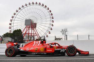 2018年F1第17戦日本GP セバスチャン・ベッテル(フェラーリ)