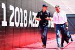 F1 | 元F1ドライバーのヨス・フェルスタッペン、息子の進歩を実感。「マックスは自分で考えてレースをしている」