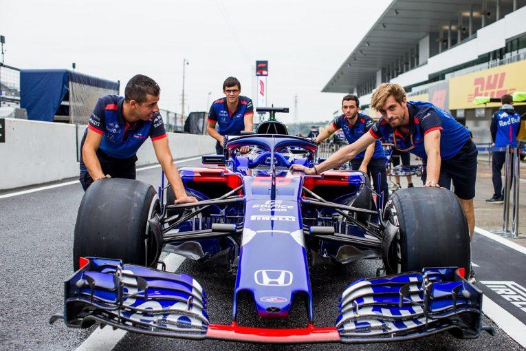 F1 | トロロッソ「新スペックPUはドライバビリティとパフォーマンスの面で改善。ハードワークで再導入してくれたホンダに感謝」:F1日本GP金曜