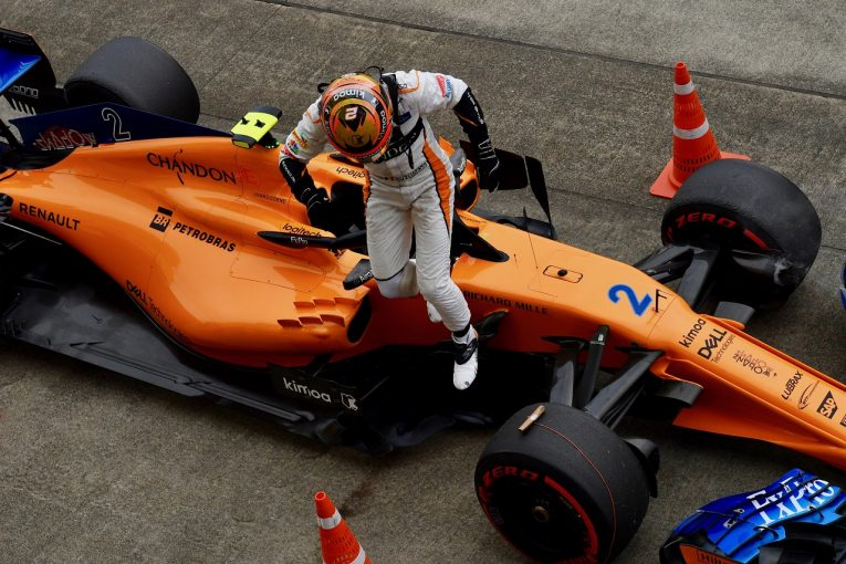 F1   バンドーン「FP1で走れなかったから、チームが選んだ方向性を信じるしかない」:マクラーレン F1日本GP金曜