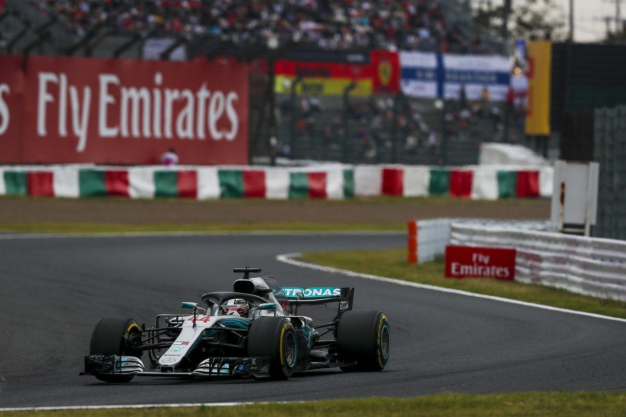 2018年F1第17戦日本GP ルイス・ハミルトン(メルセデス)