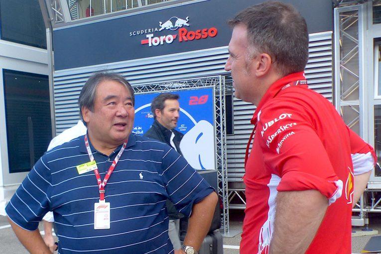 F1   F1 Topic:タイヤサプライヤーを狙うハンコックが元フェラーリの浜島裕英とコンサルタント契約へ