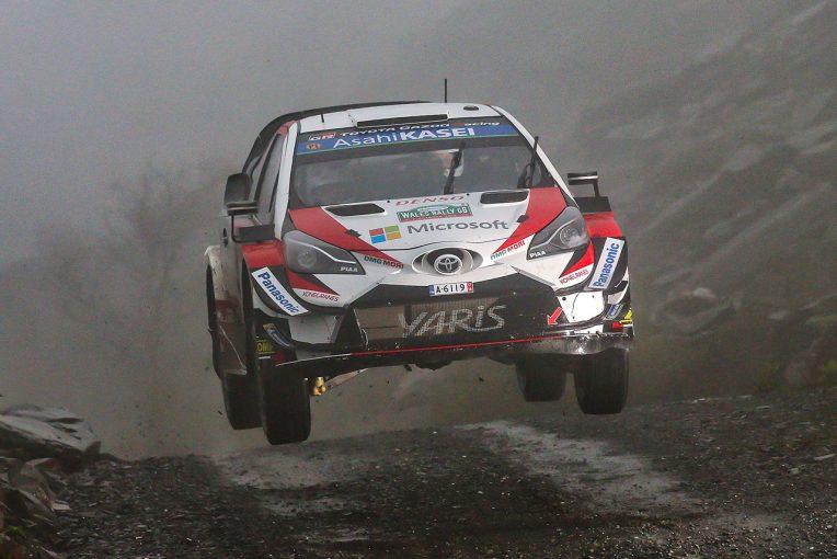 ラリー/WRC | WRCラリーGB:連勝中のタナクがトップ浮上。ラトバラ、ラッピのトヨタ勢3〜4番手に続く