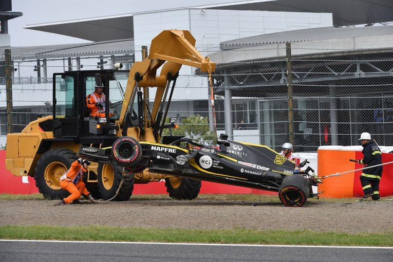 F1 | ヒュルケンベルグがクラッシュ。ハミルトンがトップにつける/【タイム結果】F1第17戦日本GP FP3