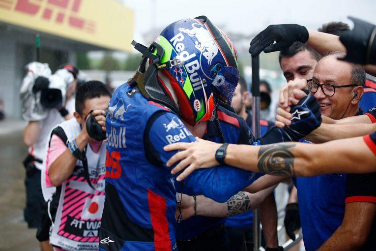 F1   F1日本GP予選:メルセデスがフロントロウ獲得、トロロッソ・ホンダは2台揃ってQ3進出する力走