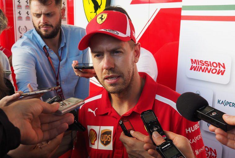 F1 | まさかの予選9番手。自らのミスで敵に塩を送ってしまったベッテル。Q3の雨タイヤ選択に「外からは愚かに見えるかもしれない」