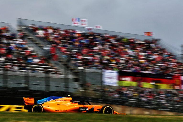 F1   バンドーン「ある意味、予想どおり。苦しい予選になることは分かっていた」:F1日本GP土曜