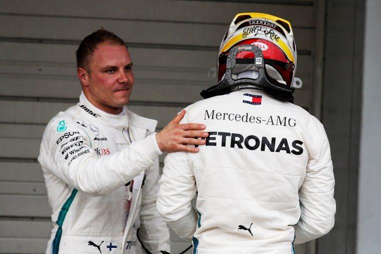 F1 | ボッタス「速いマシンと正しい戦略で予選を戦えた。それが1-2につながったと思う」:F1日本GP土曜