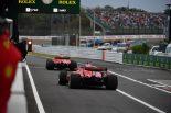 F1 | ベッテル「インターミディエイトでアタックすることは納得済みだった」:F1日本GP土曜