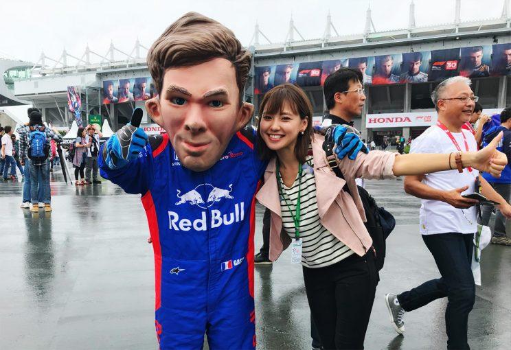 F1日本グランプリ鈴鹿サーキット予選日