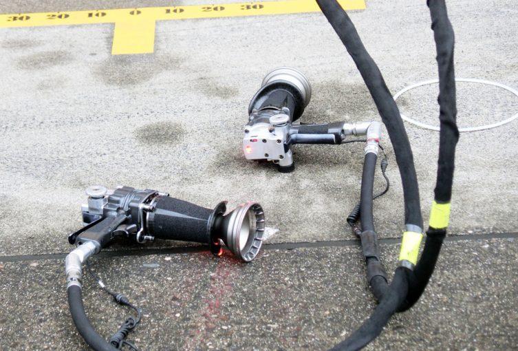 F1 | 【津川哲夫の私的F1メカ鈴鹿特別編】ピットストップのホイールガンは特殊セットで2種類常備。素人は手首を脱臼することも