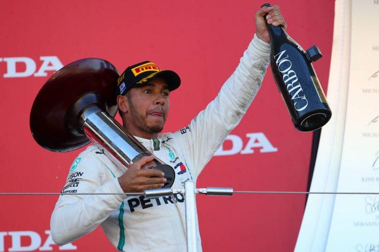 F1 | F1日本GP決勝:圧倒的な強さでハミルトンが優勝、トロロッソ・ホンダは悔しい結果
