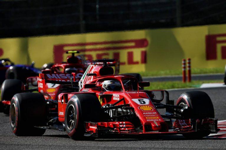 F1   【動画】ベッテルがスプーンカーブでフェルスタッペンに接触し自滅/F1日本GP 決勝