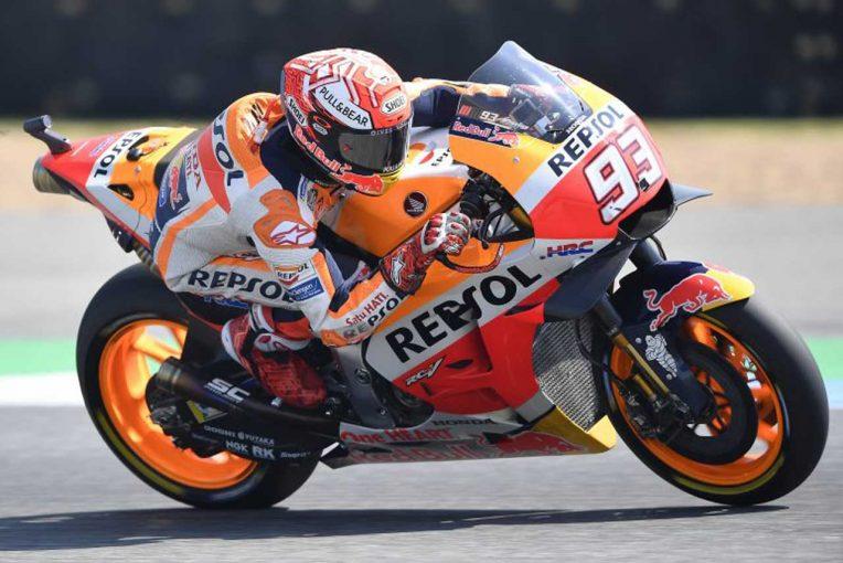 MotoGP | MotoGPタイGP決勝:3メーカーのバトルが最終コーナーで決着。0.1秒差でマルケスがタイを制す