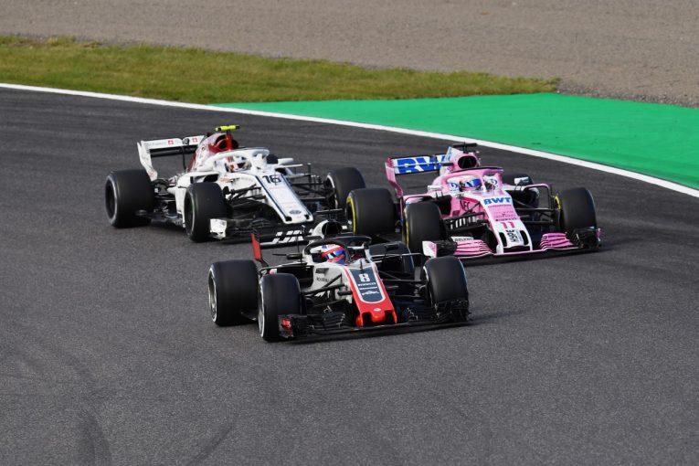 F1 | グロージャン8位「リスタートでなぜペレスに抜かれたのか理解できない」:F1日本GP日曜