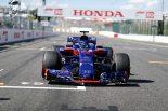 2018年F1第17戦日本GP ブレンドン・ハートレー