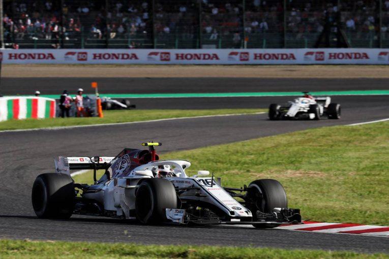 F1   ルクレール「望んでいた終わり方ではないが、楽しいレースだった」/ザウバー F1日本GP日曜