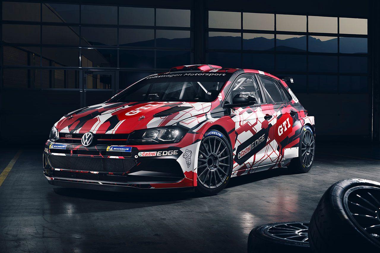 WRC:フォルクスワーゲン、第12戦カタルーニャ投入のポロGTI R5カラーリングを公開
