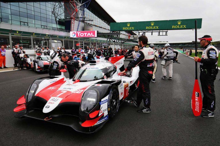 EoTの調整を受け入れたTOYOTA GAZOO RacingのトヨタTS050ハイブリッド