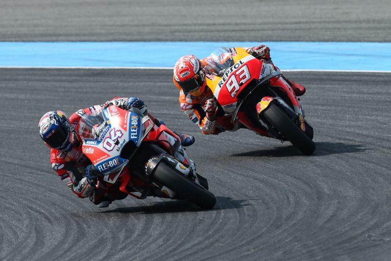 MotoGP | マルケス、タイGPは「ドヴィツィオーゾ・スタイルを使った」勝利。MotoGPタイトル獲得に大きく前進