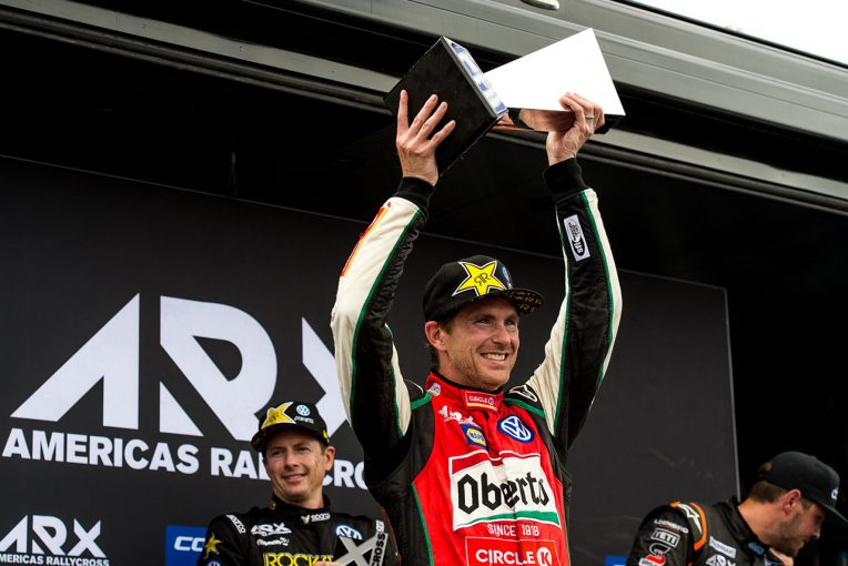 ラリー/WRC | スコット・スピードが新生ラリークロス『ARX』初代王者に。スバル勢は最終戦で表彰台届かず