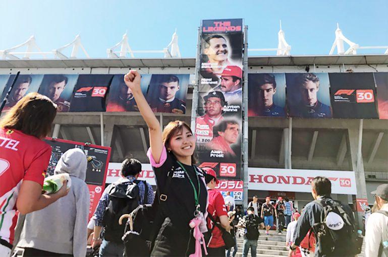 2018年F1日本グランプリ決勝日鈴鹿サーキット