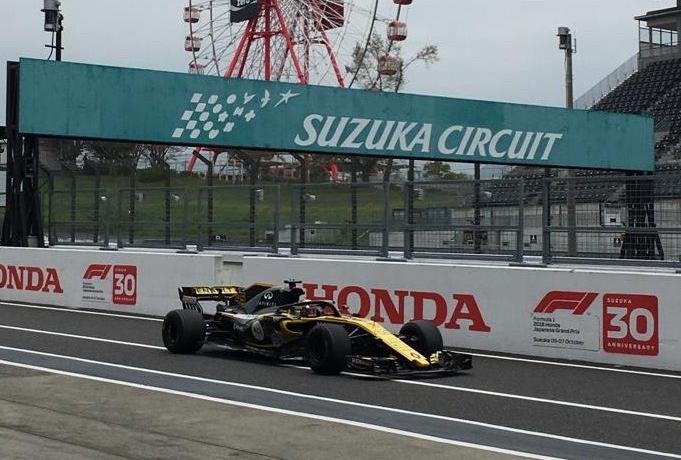 F1 | 鈴鹿での2019年用F1タイヤ開発テストが終了。雨絡みの一日、ルノーが走行