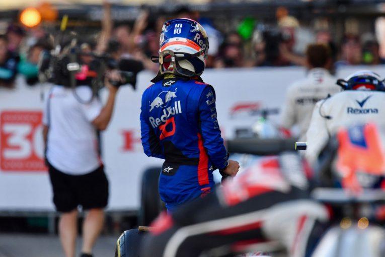 F1 | 【トロロッソ・ホンダ/ガスリー密着コラム】日本GPで上々の予選結果も、ガスリー担当エンジニアは悔し涙