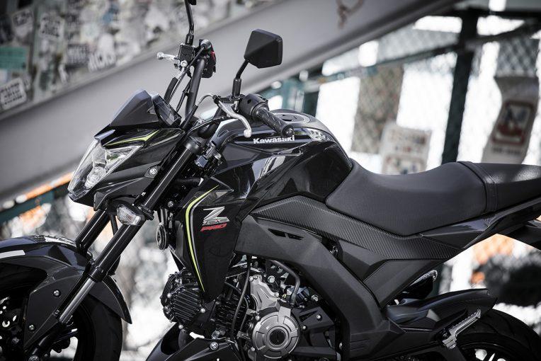 MotoGP | カワサキZ125PROはZシリーズ末弟でも乗り心地は快適/市販車試乗レポート