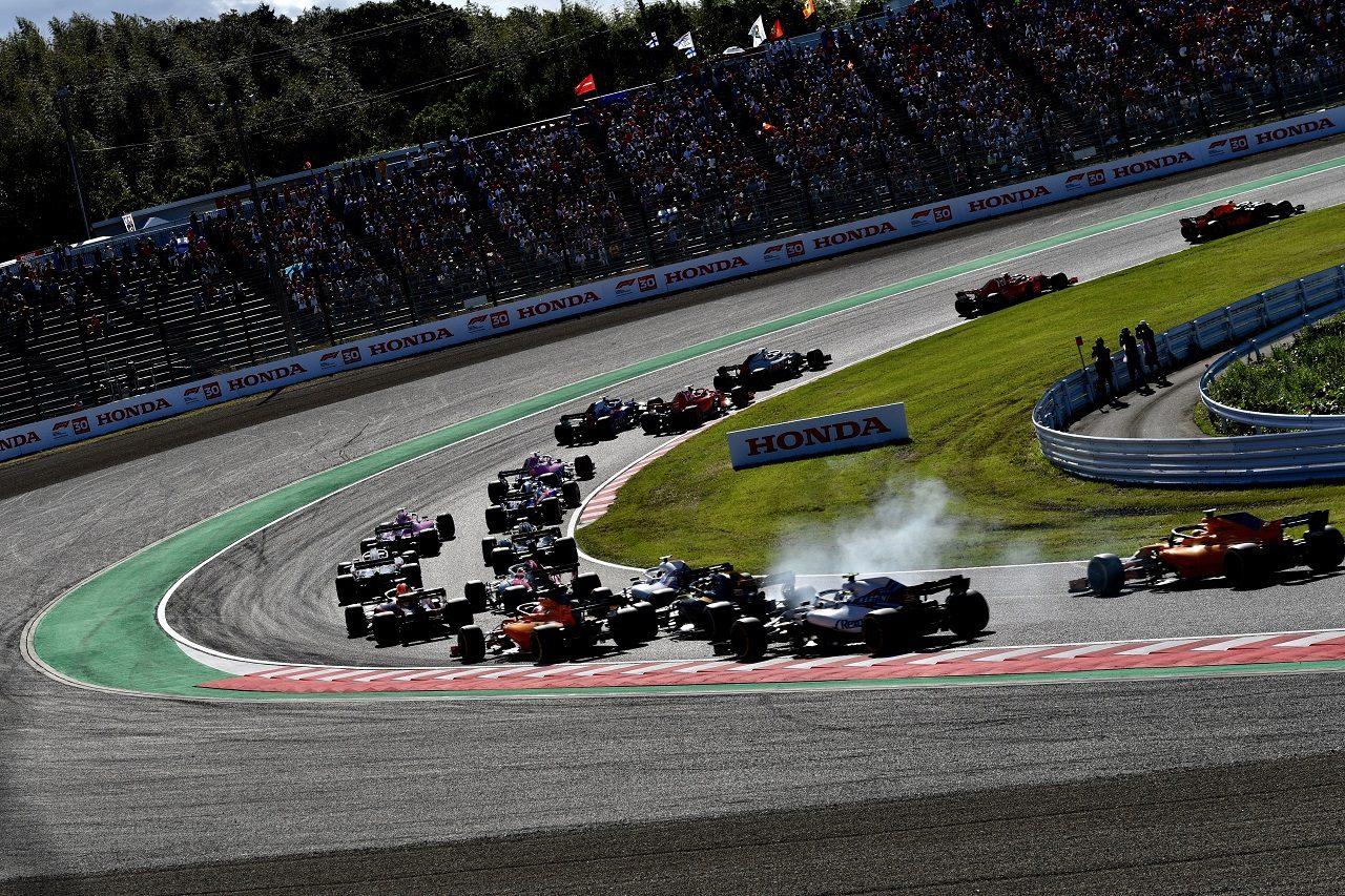 2018年F1第17戦日本GPスタート