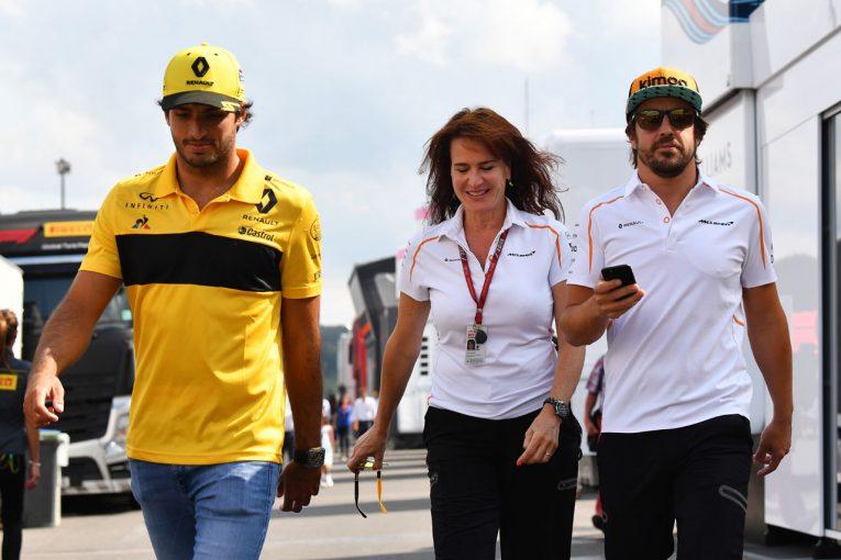 F1   「マクラーレンF1は今がどん底。あとはよくなるばかり」とサインツJr.