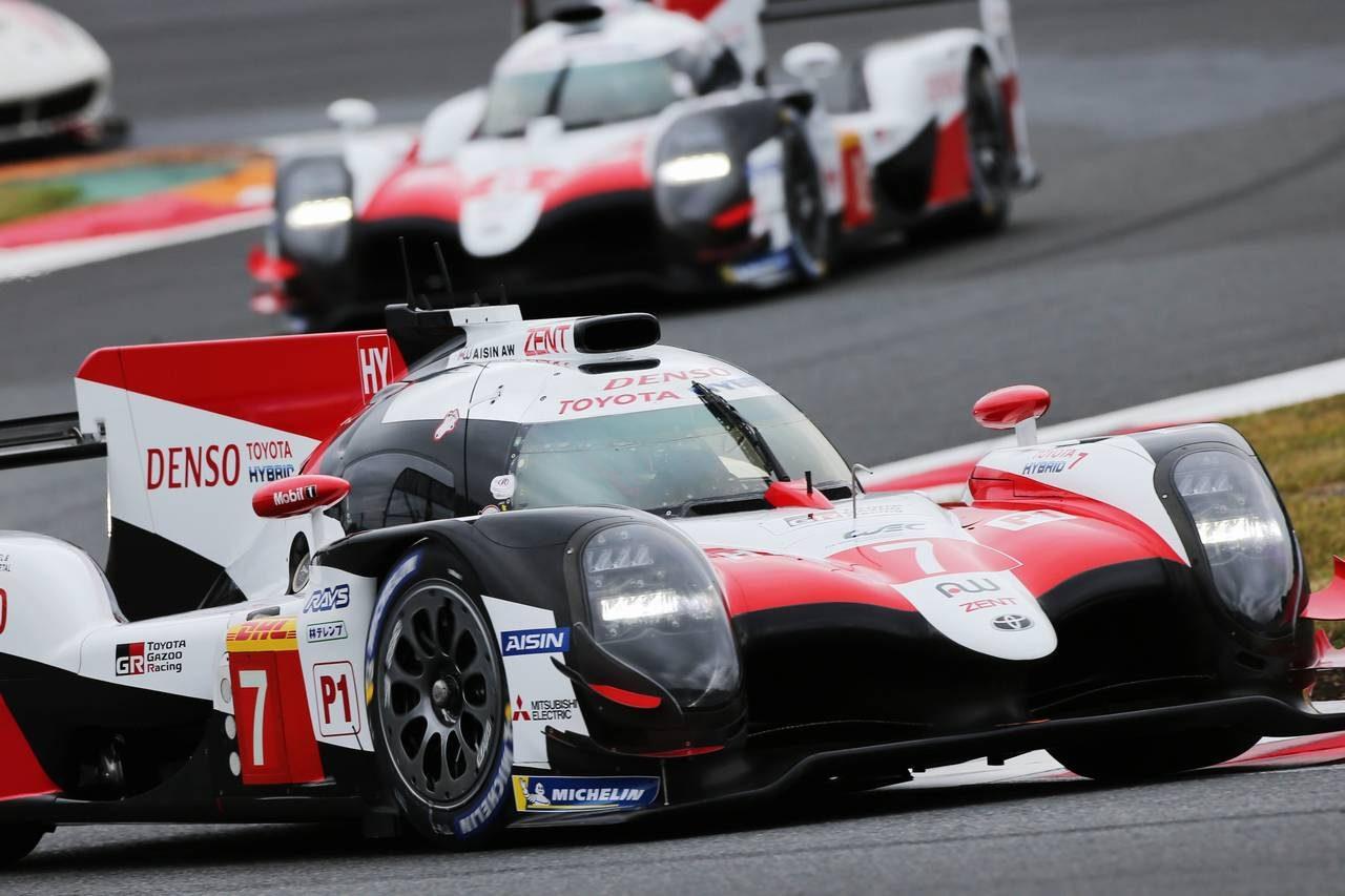 WEC富士:激しいチーム内争いを制し小林可夢偉の7号車トヨタが2戦連続ポール獲得