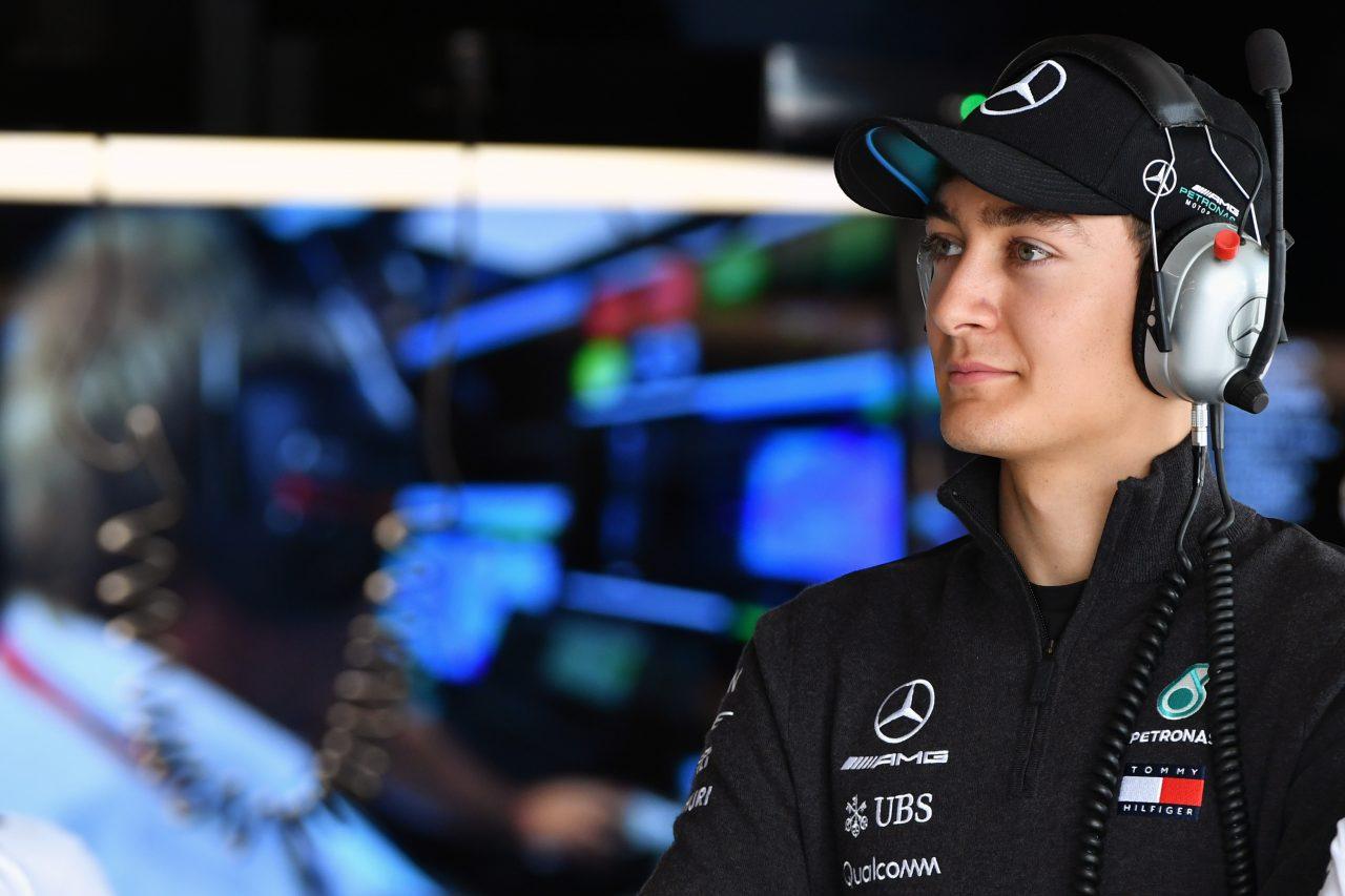 2018年F1日本GPでのラッセル