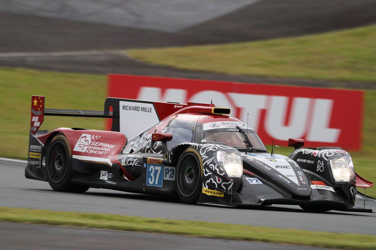 WEC富士:ウエットからドライに変わる路面を小林可夢偉が力走。トヨタ7号車がレース後半を首位で迎える