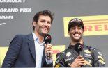 F1 | ウエーバー、リカルドとルノーF1の長期契約を懸念。「もっと競争力のある場にいてほしい」