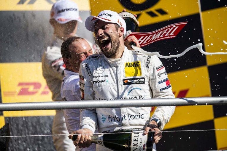 2005年以来、13年ぶりのDTMドライバーズチャンピオンを獲得したゲイリー・パフェット