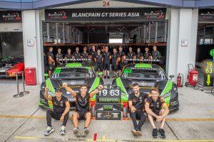 GT3クラスのチャンピオンとプロアマクラスのチャンピオンを獲得したFFFレーシング・バイ・ACM