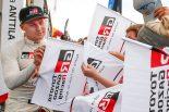WRC:豊田章男チーム総代表、若手ラッピに感謝「来年は手強いライバルとして、我々を強くしてくれる」
