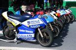 モトレーサーのマシンはMotoGPマシンに似せたカラーリングが施された