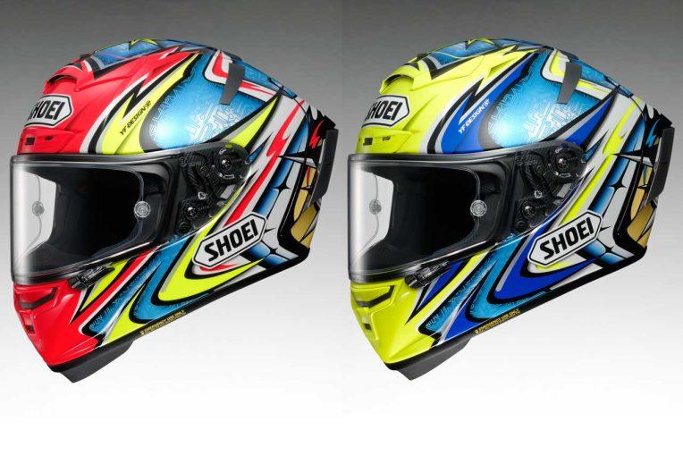 MotoGP | ショウエイの加藤大治郎レプリカヘルメットが『X-Fourteen』で復活。2色展開で2019年1月発売