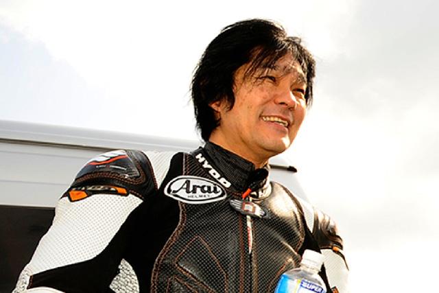 デモランは元GPライダーの原田哲也が務める