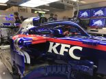 F1 | トロロッソ・ホンダ、F1アメリカGPでケンタッキーフライドチキンとスポンサー契約。「KFC」のロゴ入りマシンの写真を公開